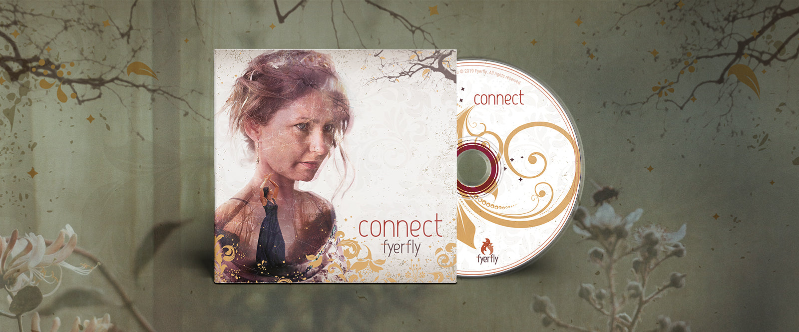 'Connect' is the debut album by sensual sadcore songstress Fyerfly.  Infusing elements of Alt Rock, Sadcore, Jazz and Blues, this deeply intimate and sultry album will soothe you as your soul is immersed in its serene and haunting sounds.
