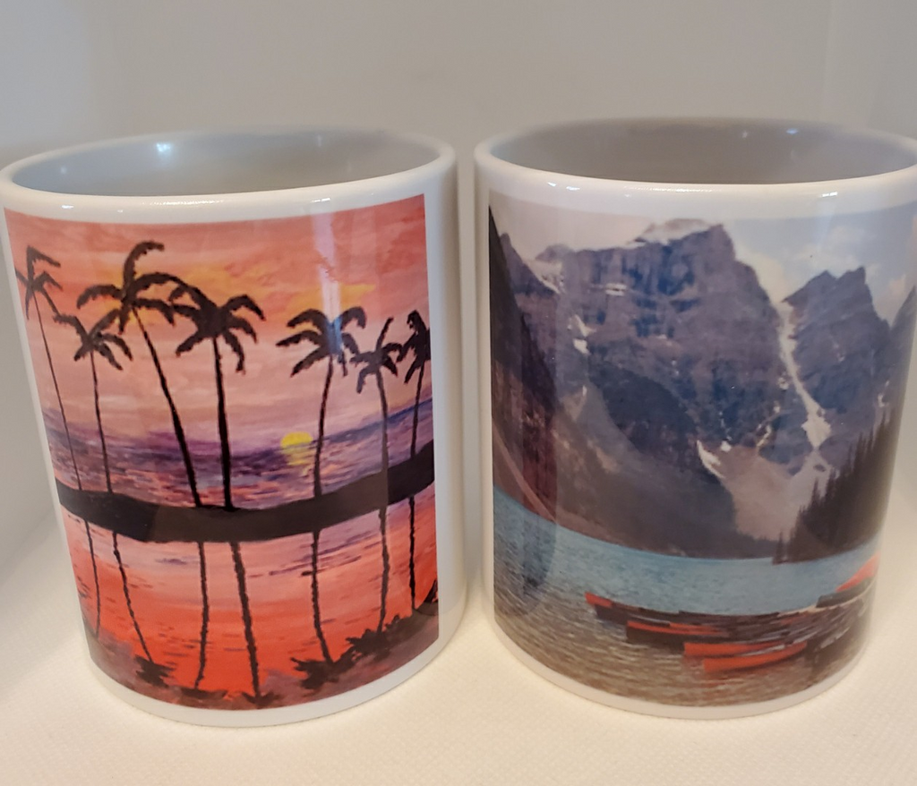 Put your favourite picture on a mug.
