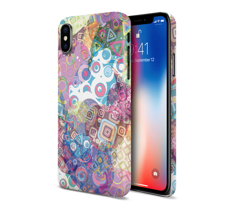 Artsy Shapes and Colors Phone Case for Apple iPhone, Samsung Galaxy, & Google Pixel