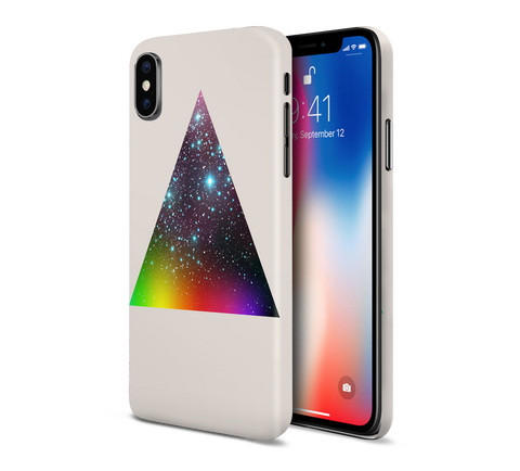Pink Floyd Geometric Triangle Phone Case for Apple iPhone, Samsung Galaxy, & Google Pixel