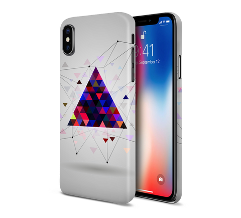 Triangular DNA Inception Phone Case for Apple iPhone, Samsung Galaxy, & Google Pixel