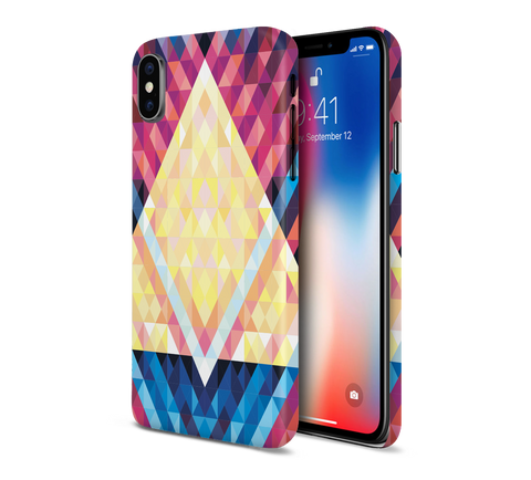 Disco Lights x Triangle Phone Case for Apple iPhone, Samsung Galaxy, & Google Pixel