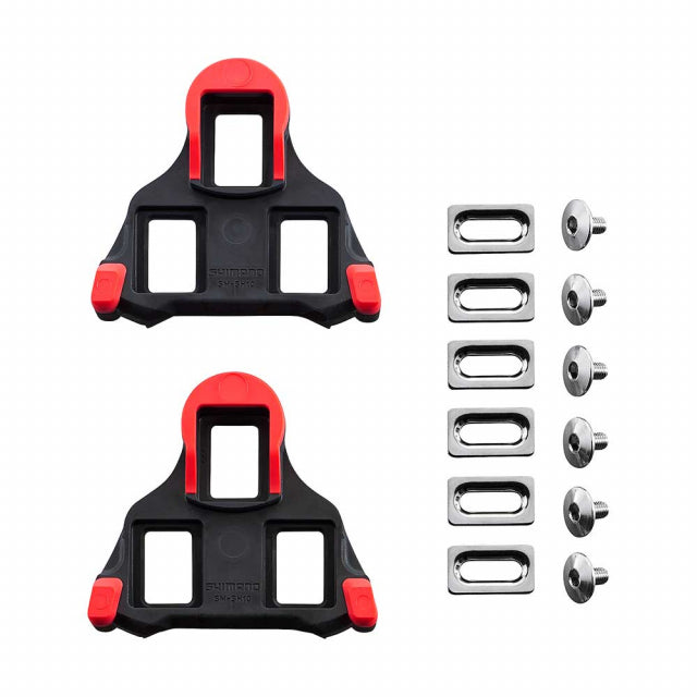 Sm-Sh10 Spd-Sl Cleat Set, 0 Degree Float