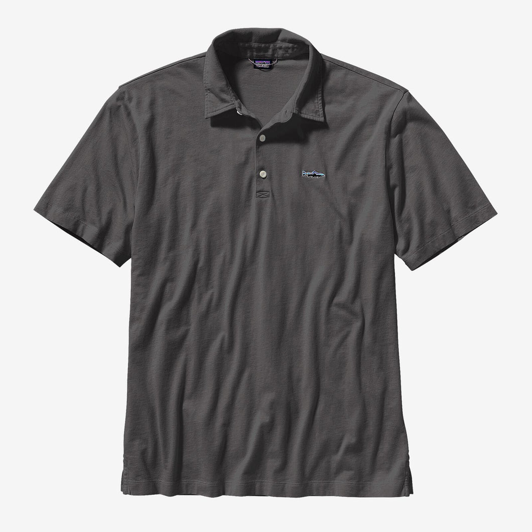 Patagonia - Men's Polo - Trout Fitz Roy