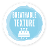 breathable texture of the baby nest stamp