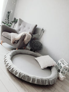 LIGHT GREY LUXURY PLAY MAT
