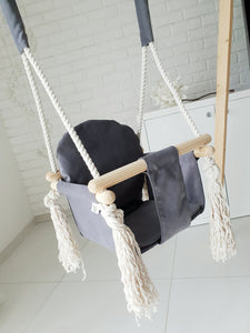 BUY ONLINE BUNNY WOODEN SWING