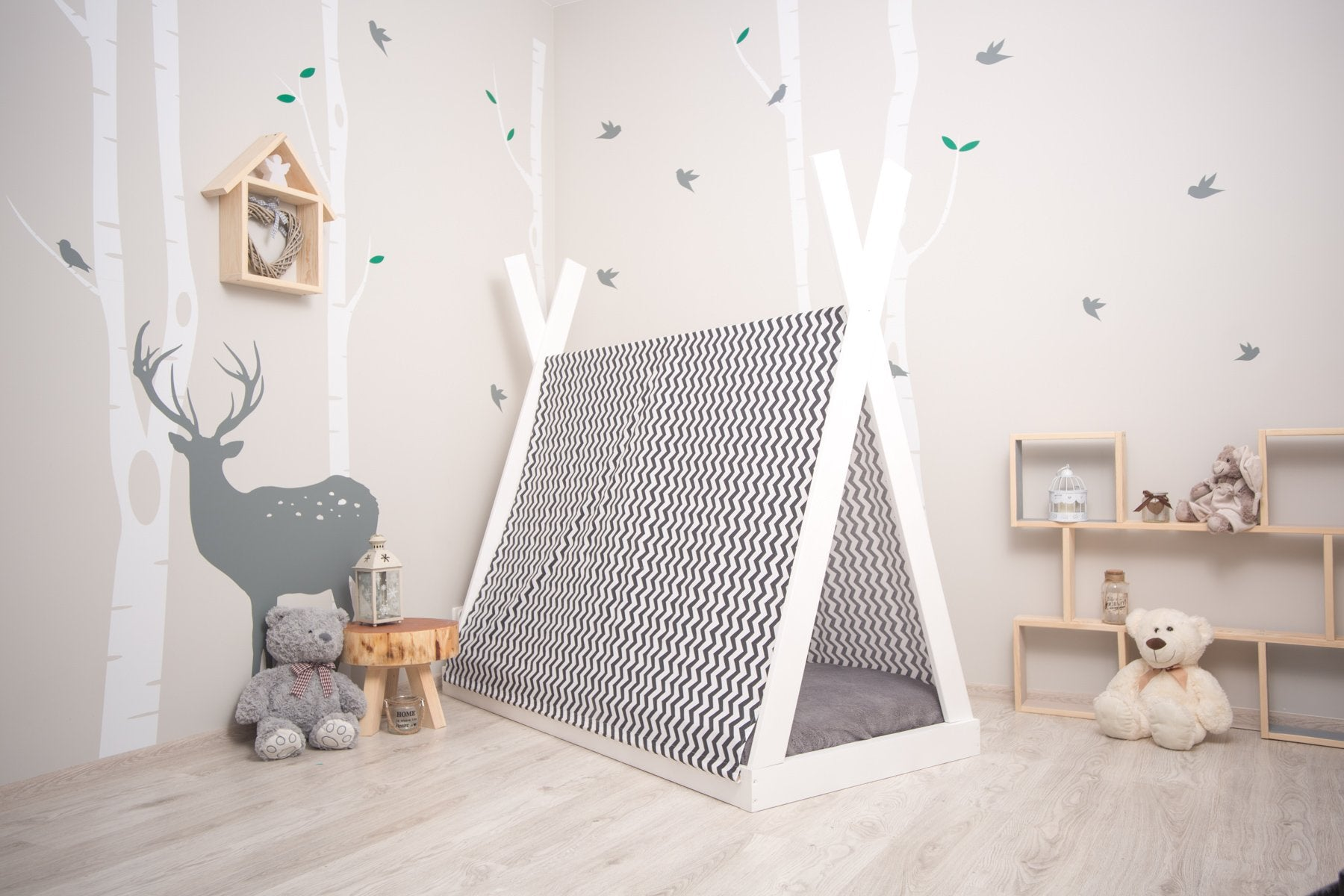 Montessori Teepee Floor Bed For Babies Toddlers