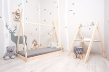 Load image into Gallery viewer, Montessori Teepee Floor Bed For Babies & Toddlers