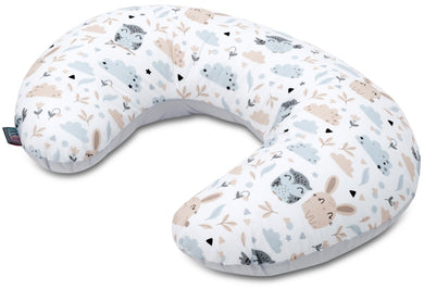 ANIMALS NURSING PILLOW WITH REMOVABLE COVER