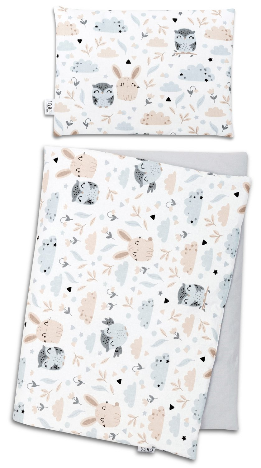 ANIMALS NEWBORN BLANKET SET