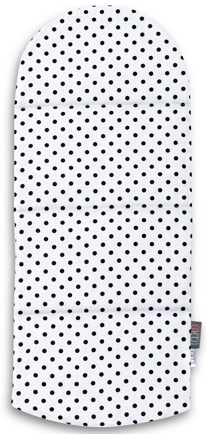 BLACK DOTTY BABY NEST MATTRESS