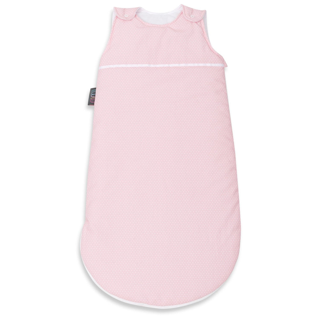 CORAL DOTTY BABY SLEEPING BAG