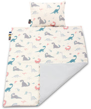 Load image into Gallery viewer, CRAZY DINO BLANKET SET