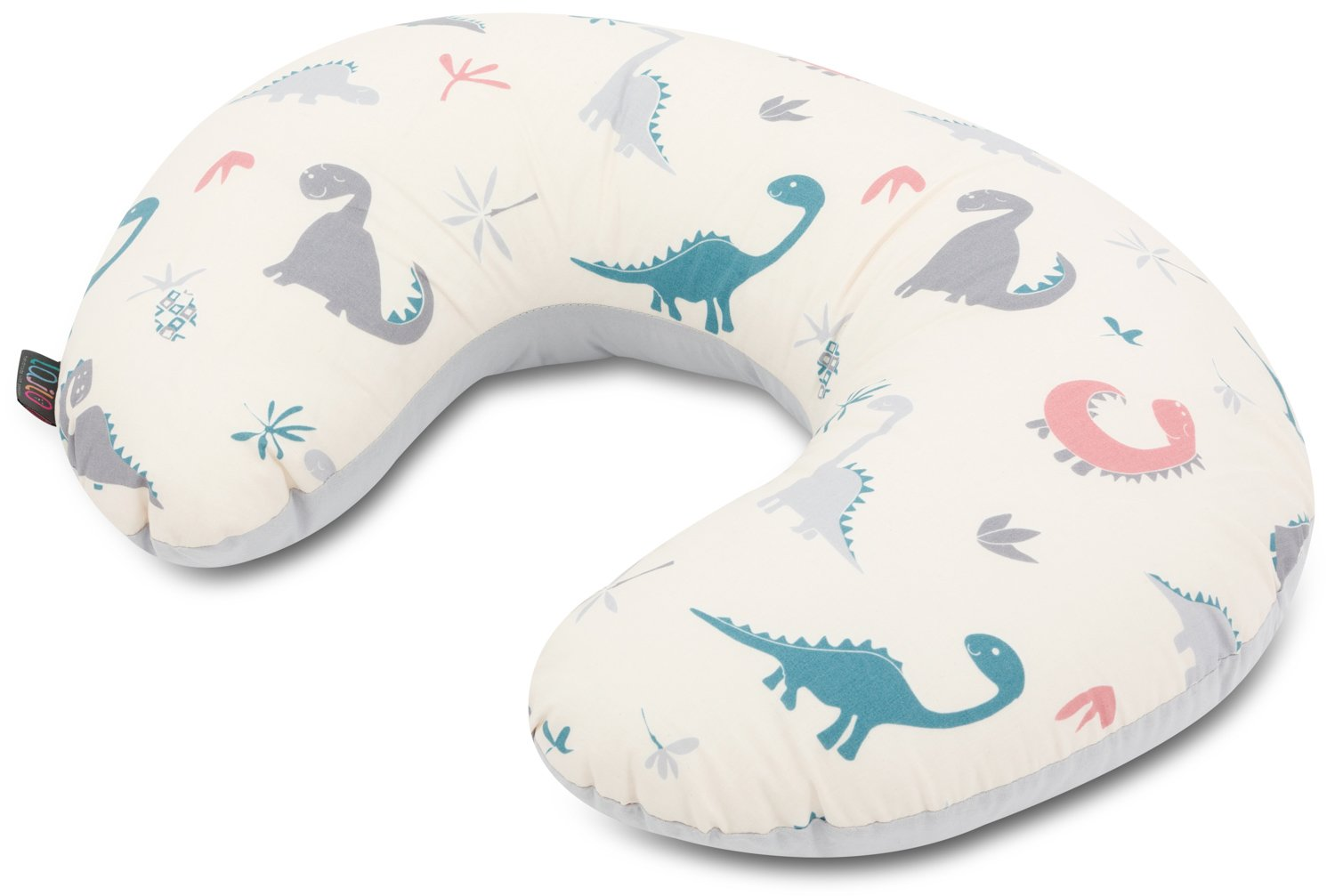 Crazy Dino Nursing Pillow With Removable Cover