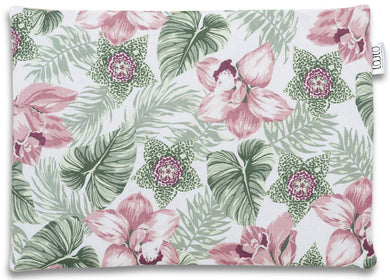 FLORAL BABY PILLOW WITH MINKY