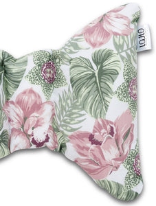 FLORAL HEAD SUPPORT PILLOW