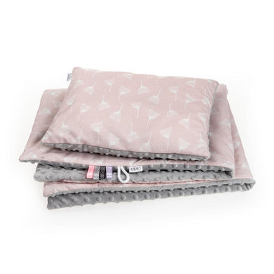 100% cotton DANDELION BLANKET SET