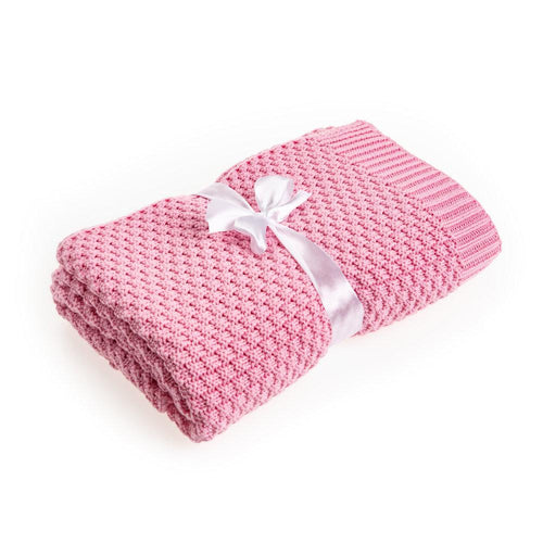pink bamboo blanket