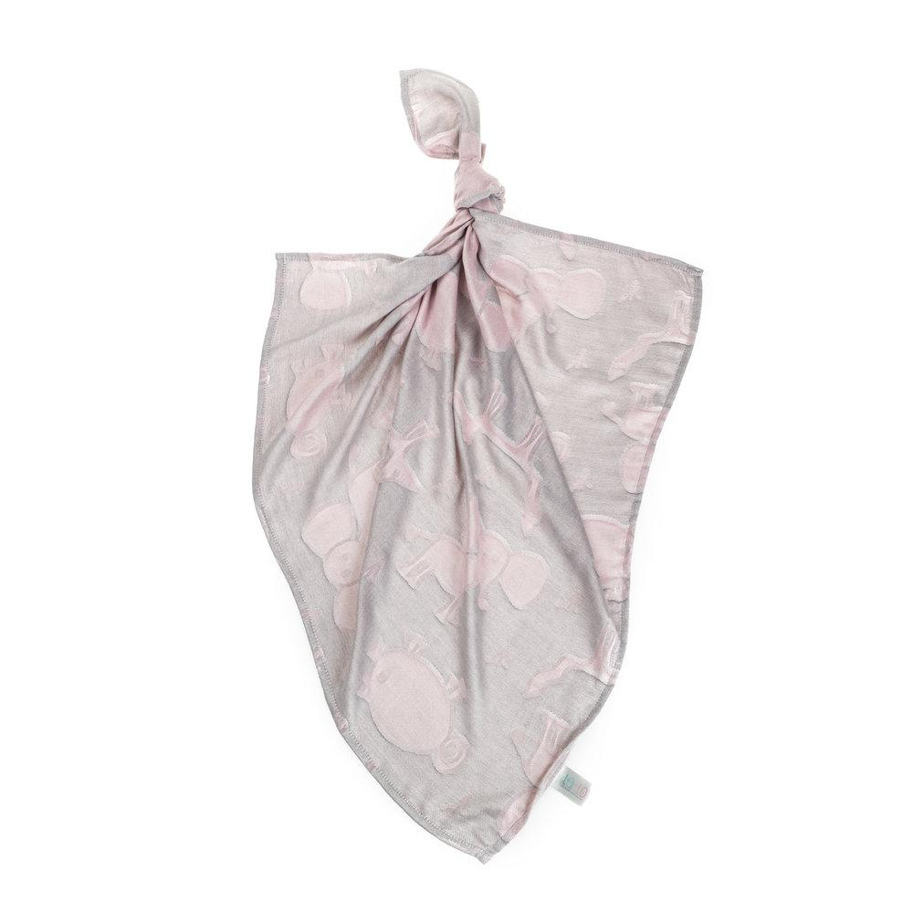 BUY ONLINE GREY ANIMALS BAMBOO MUSLIN SQUARE