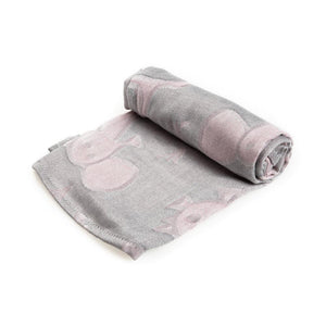GREY ANIMALS BAMBOO MUSLIN SQUARE
