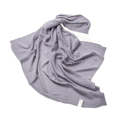 GREY BAMBOO BLANKET