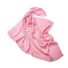 Load image into Gallery viewer, pink bamboo blanket baby size