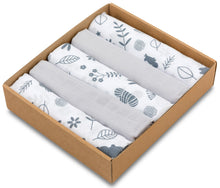 Load image into Gallery viewer, LITTLE FOREST MUSLIN SQUARE- 5 PACKS