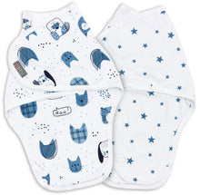 Load image into Gallery viewer, LUCKY SWADDLE WRAP PACK OF 2 3-6 MONTHS