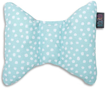 Load image into Gallery viewer, MINT DOTTY HEAD SUPPORT PILLOW