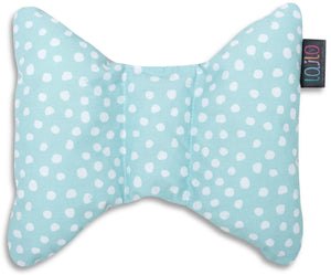 MINT DOTTY HEAD SUPPORT PILLOW