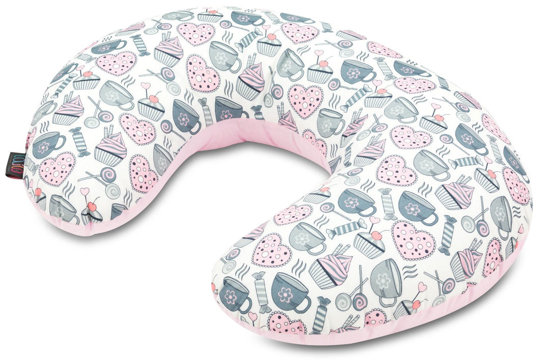 MUFFIN BREAK NURSING PILLOW WITH REMOVABLE COVER