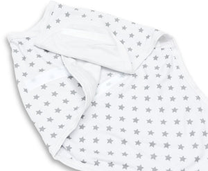 NEUTRAL SWADDLE WRAP PACK OF 2 0-3 MONTHS