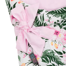 Load image into Gallery viewer, PINK BLOSSOM SWADDLE BLANKET
