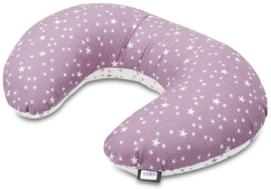 LILAC AND PURPLE NURSING PILLOW