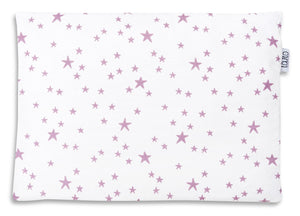 LILAC AND PURPLE STARS NEWBORN BLANKET SET