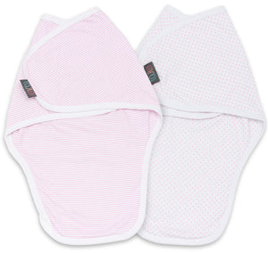 PRINCESS SWADDLE WRAP PACK OF 2 3-6 MONTHS