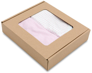 PRINCESS SWADDLE WRAP PACK OF 2 0-3 MONTHS