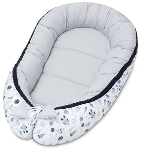 SPACE MISSION BABY NEST 5 ELEMENTS SET