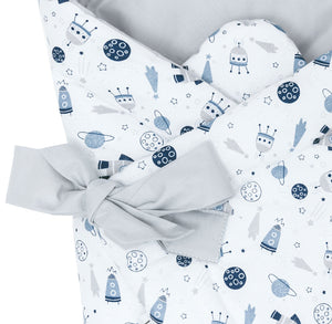 SPACE MISSION SWADDLE BLANKET