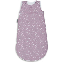 Load image into Gallery viewer, PURPLE STARS BABY SLEEPING BAG