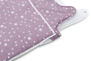 PURPLE STARS BABY SLEEPING BAG