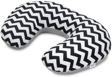 Load image into Gallery viewer, ZIG ZAG NURSING PILLOW WITH REMOVABLE COVER