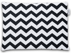 ZIG ZAG FLAT PILLOW FOR NEWBORN WITH MINKY