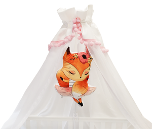 BUY ONLINE WHITE BABY BED CANOPY