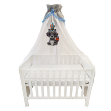 Load image into Gallery viewer, High quality grey white baby canopy made by Lajlo