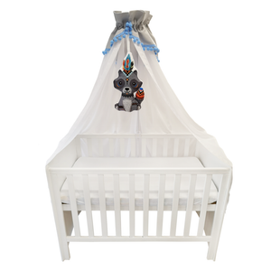 High quality grey white baby canopy made by Lajlo