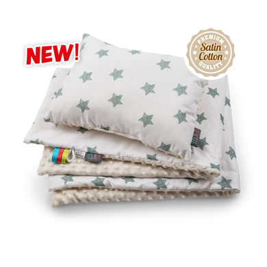 BUY GREEN STARS BLANKET SET