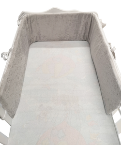 BUY HIGH QUALITY GREY COT BUMPER