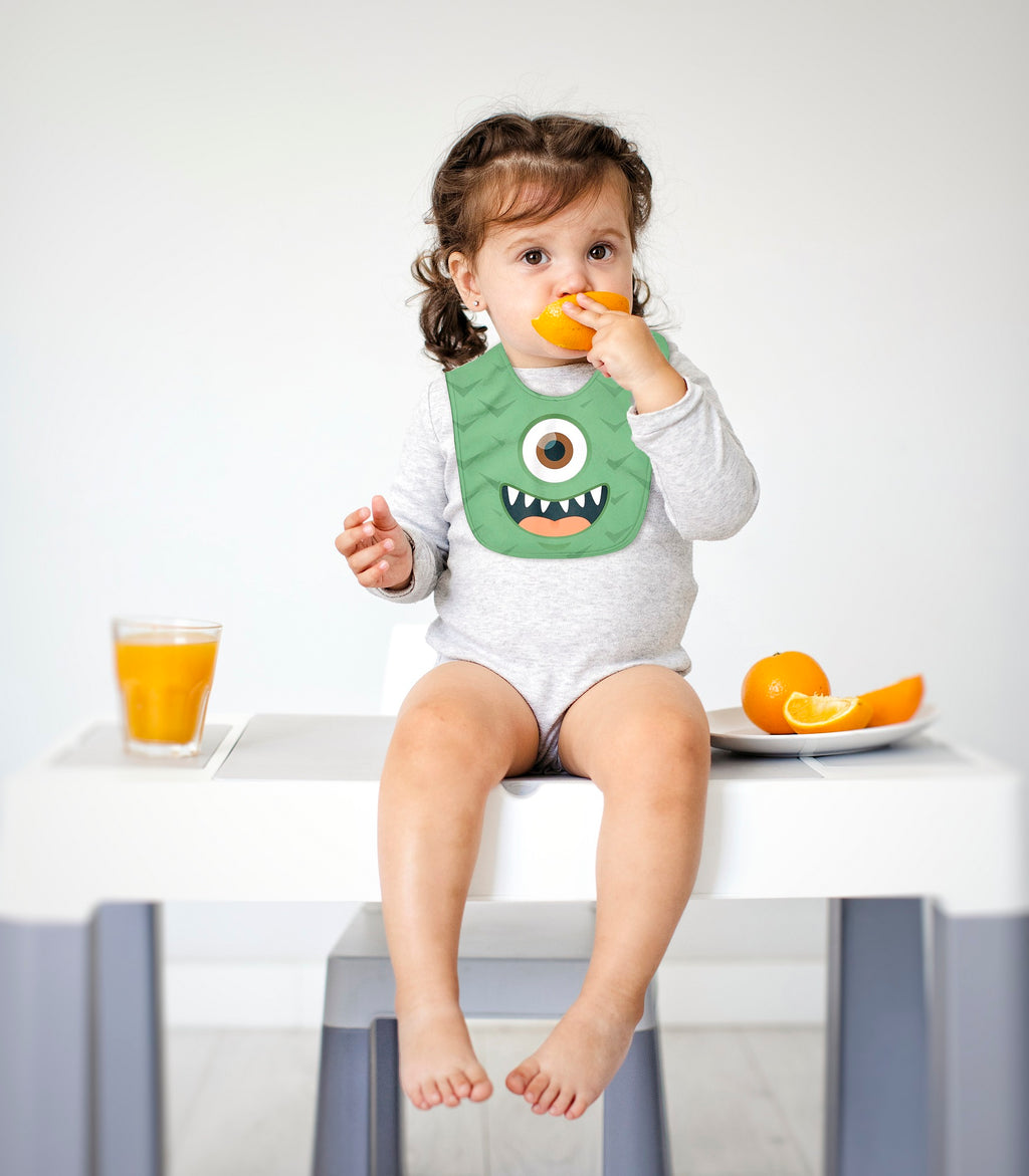 Baby Monster Funny Bib
